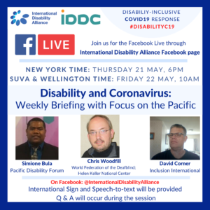 Poster Facebook live 21 May 2020
